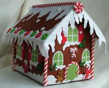 PATCHWORK / QUILTING  CHRISTMAS GINGERBREAD HOUSE SEWING PATTERN by Gail