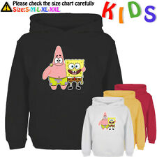 SpongeBob Patrick Star Pattern Kids Hoodies Childs Sweatshirt Girls Boys Hoody