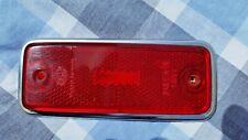 Volvo 164 165 144 145 Red Side Marker Lens 1969 1970 1971 1972 1973 1974 1975