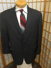 Michael Kors Gray  Stripe 100% Wool Blazer Sport Coat Mens Size 44 S
