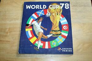 Panini WM 1978 - World Cup 78 Argentina - WC Album Komplett - Mega Rarität TOP