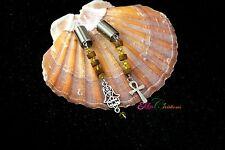 Ankh dread beads/fatima hand dread beads/8 MM dread lock/Egyptian Cross