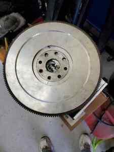 Unknown brand aluminum flywheel for 8 bolt crank 172 tooth 426 hemi? jet boat?