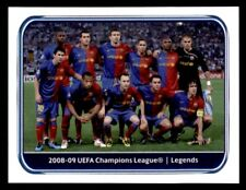 Panini Champions League 2010-2011 2008-09 FC Barcelona Legends No. 552