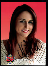 Nina Roost Autogrammkarte Orignial Signiert # BC 51464