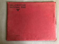 VINTAGE RARE WEST SCENICS: Yellowstone National Park by Haynes Tinted Photos