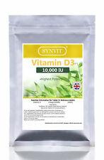 Vitamin D3 10000iu SYNVIT® 1000 Softgels  - No Quibble Guarantee! Bulk Pack