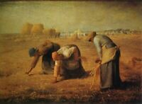 Famous Artwork Eyeglass/Sunglasses Cleaning Cloth Gleaners Jean-Francois Millet
