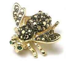 Joan Rivers Gold Rush Bee Pin