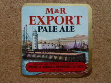 "MOORS & ROBSON'S BREWERY "" EXPORT PALE ALE  ""  PAPER BEER BOTTLE LABEL"