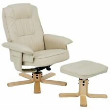 Relaxsessel mit Hocker Charly Fernsehsessel beige