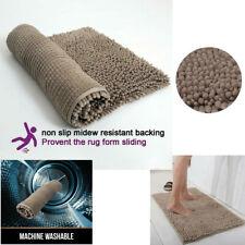 New Soft Microfiber Non-Slip Bath Mats for Bathroom Washable Absorbent Bath Rugs