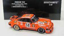 Porsche 934 ( Le Mans 1976 ) Jägermeister / Minichamps 1:18