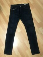 NWD MENS Diesel TEPPHAR Stretch Denim 0857Z DARK BLUE Slim W29-30 L32 H6 RRP£150