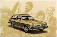 1976 Pontiac Astre Safari 2-Door Wagon Automobile Advertising Postcard