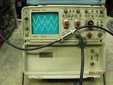 Tektronix 2336 100mhz2 Channel Oscilloscope In Good Working Condition