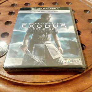 EXODUS Dei e Re 4K Blu Ray  .... Nuovo
