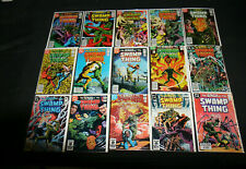 SWAMP THING  LOT OF 144 COMICS... VF - NM