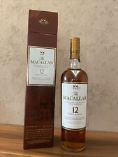 Rare The Macallan Whisky 12 YO Sherry Oak 40% 1x0,7 Liter,alte Abfüllung Neu/Ovp