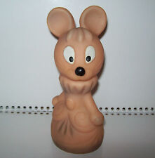 Rare Vintage USSR Big Rubber Toy MOUSE in Excellent Condition