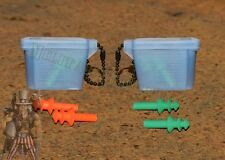 2 sets Military Shooters Earplugs Small/Medium Geen/Orange Tactical Shooting