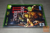 House of the Dead III 3 (Xbox 2002) FACTORY SEALED! - RARE!