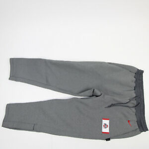 Ohio State Buckeyes Nike Dri-Fit Athletic Pants Men's Gray New without Tags