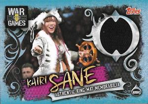 Kairi Sane Topps WWE Slam Attax live Ring Mat Relic Memorabilia RMHC