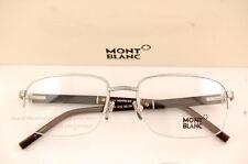 Brand New MONT BLANC Reading Glasses Eyeglasses 447 016 Silver For Men Women