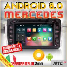 "AUTORADIO 8"" Android 8.0 DVD Octa-Core 2GB 32GB Mercedes Classe C CLK Viano V..."