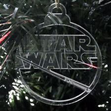 Plastic Star Christmas Tree Ornaments