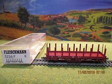 Wagon plat 5226F HO pour locomotive Fleischmann