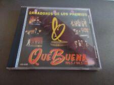 GANADORES DE LOS PREMIOS CD QUE BUENA