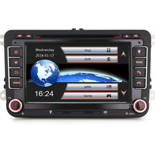 Autoradio Navi Doppel Din DAB+mit CD DVD GPS Navigation 3G für VW Transporter T5