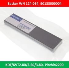 4 pcs Carbon Vane 90133000004 WN124-034 for Becker KDT/KVT2.80/3.60/3.80 Picchio
