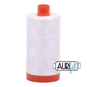 Aurifil Cotton Thread Mako 50wt Large Spool 1422 yards/1300 meters MK50SC6-2021