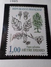 FRANCE 1985, timbre 2384, FLORE ARBRE, TREE, FAGUS, neuf** VF MNH STAMP