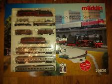 Märklin H0 29820 Mega Digital Startset Güterzug Personenzug BR 50 2 LoksOVP NEU