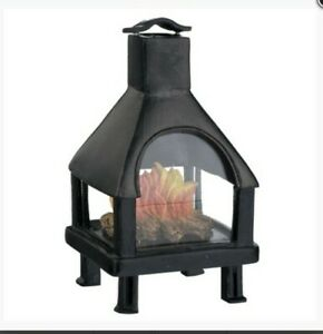 Miniature Dolls House Accessories Freestanding Fire Place 1:12th scale size