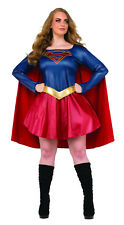 Women's Plus Size Supergirl Costume TV Series Halloween Dc Comics Cosplay
