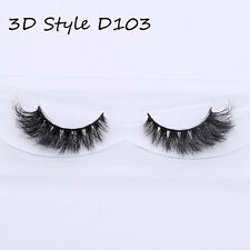 9 Styles Real 3d Mink False Eyelashes Thick Long Lashes for Eyes A21