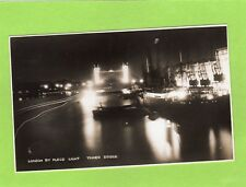 London by Flood Light Tower Bridge RP pc unused Photochrom Ref D575