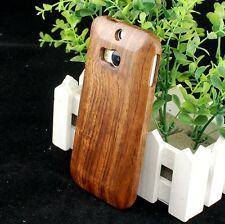 New Real Natural Rose Wood Wooden Hard Cover Case for HTC ONE 2 M8