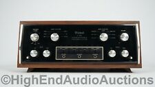 McIntosh C28 Stereo Preamplifier - Phono - Walnut Cabinet - Nice And Clean!