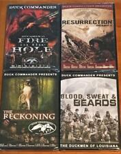 Duck Commander Hunting Seasons 15 16 17 18 Duckmen 4 DVD Lot Set NEW