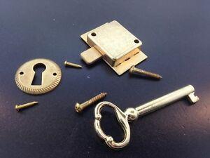 Original Howard Miller Grandfather Older Style Door Lock