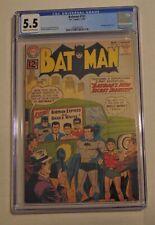 DC Comics 1962 Batman #151 CGC 5.5 Cream to Off White Pages Batwoman App.
