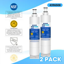 Fits Whirlpool 4396508 4396510 EDR5RXD1 Filter 5 Comparable Water Filter 2 Pack