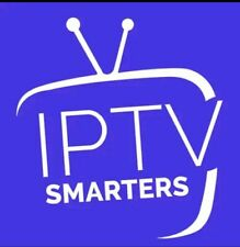 abonnement 12 mois IP TV SMARTERS smart tv m3u mag android ..