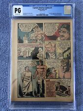 Captain America Comics #1 CGC PG! First Cap EVER! Steve Rogers Origin!